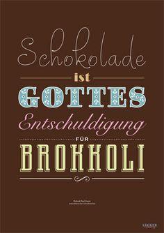 Das LECKER-Poster - ein Muss für Schokoholics - lecker-poster-artikel