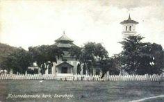 Mohammedaansche kerk, Soerabaja. 1906-1930