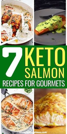 These Low Carb Keto Salmon Recipes are easy and make for the perfect healthy meals. Clean eating on the ketogenic diet has never been easier with these easy keto salmon dinners. Keto Salmon Recipes Cream Cheeses, Keto Salmon Recipes G Ketogenic Diet Meal Plan, Keto Meal Plan, Diet Meal Plans, Keto Salmon, Grilled Salmon Recipes, Ketogenic Salmon Recipes, Salmon Low Carb Recipes, Salmon Meals, Seafood Recipes