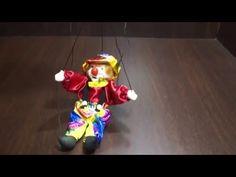 00337 inmagig.ru Клоун Марионетка - YouTube