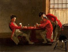 The Card Game by Charles Xavier Harris (1856 – 1936)