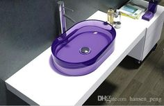 ... Sink Colourful Cloakroom Wash Basin Solid Surface Stone Vessel Sinks