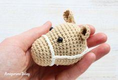 Cuddle Me Pony crochet pattern - bridle