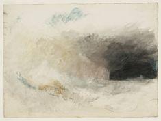 "Joseph Mallord William Turner, ""Longships Lighthouse, Land End, az észak-keleti"" c.1834"