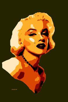 39-POP Art. Marilyn Monroe.