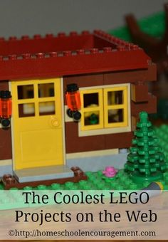 The Coolest LEGO Projects on the Web! Inspire your kids and have fun at the same time, with ideas for how to incorporate these into your school day. from #Homeschool Encouragement
