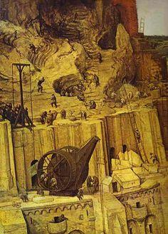 The Tower of Babel - : Canvas Art, Oil Painting Reproduction, Art Commission, Pop Art, Canvas Painting Medieval, Pieter Bruegel The Elder, Tower Of Babel, Renaissance Paintings, Free Art Prints, Tarot, Dutch Painters, Oil Painting Reproductions, Hand Painting Art