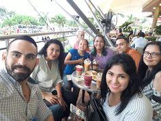 Con las hermanas Perozo, Kassfinol y unos chicos maravillosos. Cúcuta, Colombia.
