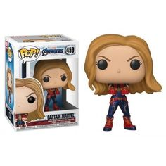 Get ready for Avengers: Endgame with this Captain Marvel Funko POP! Assemble your own team of Avengers by collecting the whole set. Funko Pop Marvel, Marvel Avengers, Captain Marvel, Marvel Pop Vinyl, Avengers Cast, Pop Vinyl Figures, Funko Pop Figures, Funk Pop, Disney Pop