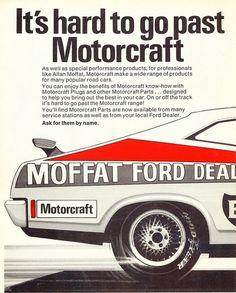 1977 Ford XC Falcon Hardtop - Motorcraft - Allan Moffat Ad by...