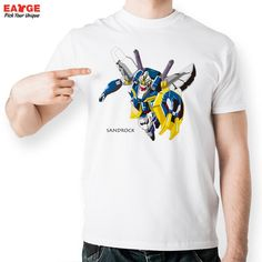 Sandrock Gundam W T Shirt Design Inspired By Super Robot Wars Game T shirt Novelty Tshirt Men Women Cool Fashion Printed Tee-in T-Shirts from Men's Clothing & Accessories on Aliexpress.com | Alibaba Group