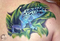 [www.tattoou.co.il :טאטו יו - כל מה שרצית לדעת על קעקועים] --- #tattoos #frog קעקוע צפרדע