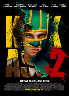 Kick-Ass 2 7/10 - getting poisonous reviews but I enjoyed it. Hit Girl is everything.
