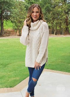 Note To Self Sweater in Ivory