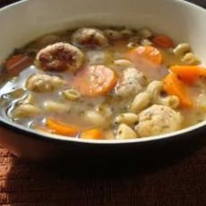 Meatball Soup Recipe | Meatball Soup, Italian Meatball Soup and ...