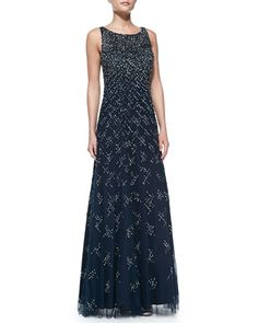 8734b588a26 Aidan Mattox Sleeveless Beaded   Sequined A-Line Gown. Aidan MattoxA Line  GownFarm WeddingWedding StuffGownsDressesStyleFashionNeiman Marcus