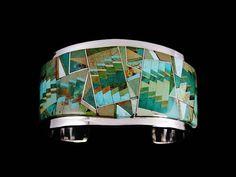 Jewelry Designer Blog. Jewelry by Natalia Khon: Jewellery masterpieces. Turquoise bracelet by Tommy Jackson