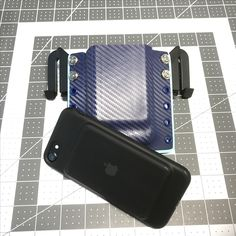 iPhone 7 with Apple extended battery case Phone Holster, Kydex, Holsters, Edc, Iphone 7, Custom Design, Apple, Phone Cases, Projects