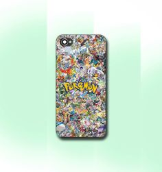 Pokemon All Character  iPhone 4/4S case iPhone by CaseByViona, $13.99