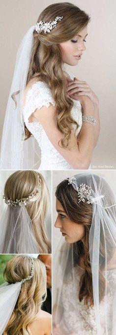 Trendy Wedding Hairstyles Updo With Headband Tutorials