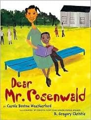 Dear Mr. Rosenwald - part of a growing list of books about hunger, poverty, and homelessness