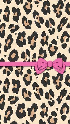 Cheetah print bows