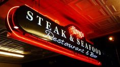 THE SEVEN BEST STEAK HOUSES IN AUCKLAND Best Steak, The Seven, Auckland, Places To Eat, Challenge, Neon Signs, Houses, Drinks, Homes