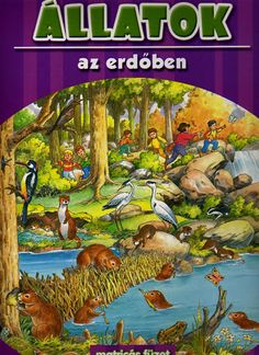 ALLATOK AZ ERDOBEN - Kinga B. - Picasa Webalbumok Comic Books, Album, Comics, Painting, Fictional Characters, Science, Animals, Comic Strips, Painting Art
