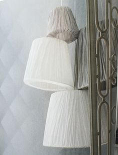 IKEA Hemsta lampshades.
