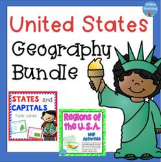 This social studies product includes two interactive resources designed to engage your learners. 3rd Grade Social Studies, Social Studies Worksheets, Social Studies Classroom, Social Studies Activities, Free Teaching Resources, Science Resources, Teacher Resources, Teaching Ideas, States And Capitals
