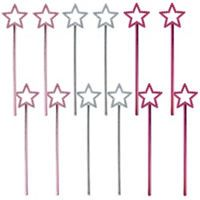 Star Wands 12ct - Woodland Fairy - Party City