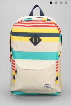 Striped back pack