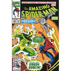 AMAZING SPIDER-MAN #369 | Marvel Comics | November 1992 | Green Goblin | Electro