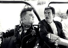"""classictrek: Behind the scenes, Star Trek IV: The Voyage Home The bus punk was played by associate producer Kirk Thatcher, who also wrote and recorded """"I Hate You"""" in the span of an evening in a hallway at the production offices."""