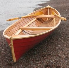 i want a red row boat