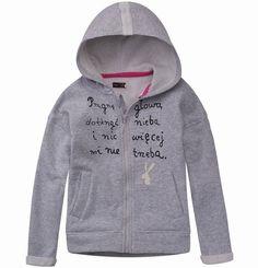 Ocieplana bluza z kapturem dla dziewczynki Hoodies, Sweaters, Girls, Fashion, Simple Lines, Toddler Girls, Moda, Sweatshirts, Daughters