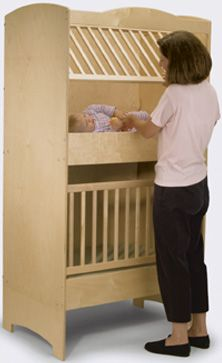 Double Cribs for Twin Babies | Double Decker Crib for Twins - Photo courtesy of PriceGrabber.com