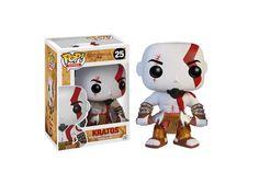 Kratos Funko POP! - God Of War - #GodOfWar #Kratos #Funko #Funkopop #Games