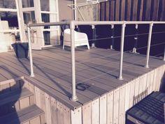 (Trap)hekken en Balustrades van Steigerbuis - Voorbeelden