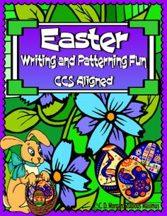 Easter Writing and Patterning Fun! CCS Aligned These interactive and engaging activities are a great addition to your Easter Literacy & Math centers / workshop. Activities can be used as Morning Work or part of the Literacy/ Math centers. Students work on: improving vocabulary, use their schemata when describing Easter related pictures, patterning, improving reading and writing skills, segmenting and blending words, proper conventions of writing.