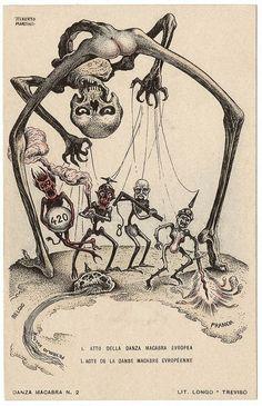 Art by Alberto Martini, considered one of the precursors of surrealism.https://en.wikipedia.org/wiki/Alberto_Martini