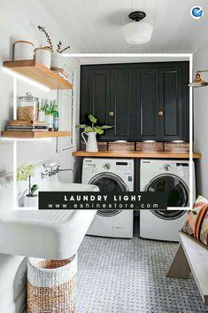 180 best laundry room lighting ideas in