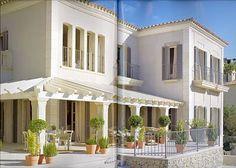 villa with contemporary patio