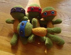 """Free pattern for """"Teenage Mutant Ninja Turtles""""!."""