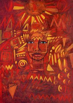 Mejores pintores del mundo - Ortega Maila - Danzante del sol