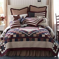 JCPenny   Would look cute in guest bedroom with an Americana theme.