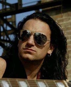 U2's Bono circa 1987
