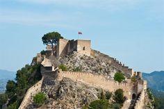 Castillo de Xativa, Valence - Communauté Valencienne (Espagne)