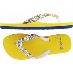 Travel Fashionista Flip Flop  available at #Brighton