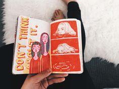 Art Journal — jdebbiel: Sadie Koppelberger-project page : ) art,drawing Arte Sketchbook, Sketchbook Pages, Sketchbook Ideas, Kunstjournal Inspiration, Sketchbook Inspiration, Art Sketches, Art Drawings, Drawing Faces, Drawing Art